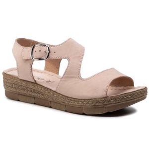 Sandály Lasocki M865 Přírodní kůže - nubuk