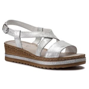 Sandály Lasocki H229 Přírodní kůže (useň) - Semiš