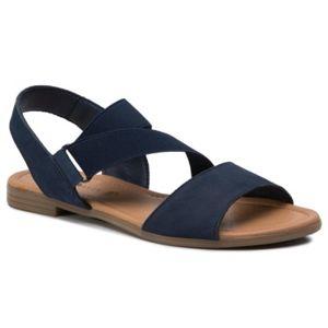 Sandály Via Ravia TTT-ARENA-05 Přírodní kůže - nubuk,Textilní