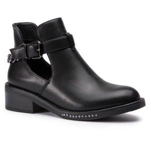 Kotníkové boty DeeZee WS1829-01 Ekologická kůže