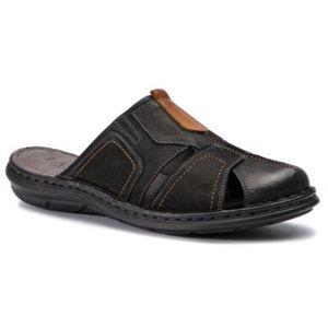 Pantofle Lasocki for men MI07-A426-A282-23 Přírodní kůže - nubuk,Přírodní kůže - lícová