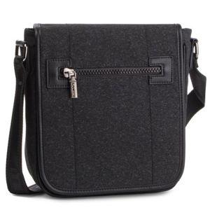 Pánské tašky Lanetti RM0898 Textilní materiál,Ekologická kůže