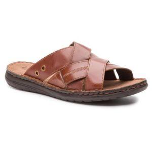 Pantofle Lasocki for men MI07-A700-A564-09 Přírodní kůže - lícová