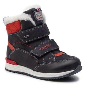 Šněrovací obuv Lasocki Kids CI12-2757-03 Přírodní kůže - nubuk,Přírodní kůže - lícová