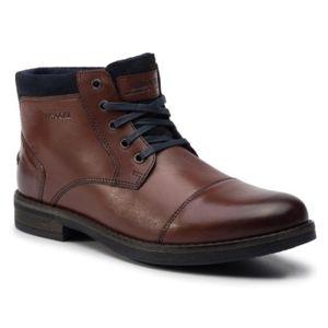 Šněrovací obuv Lasocki for men MB-GORAN-01 Přírodní kůže - semiš,Přírodní kůže - lícová