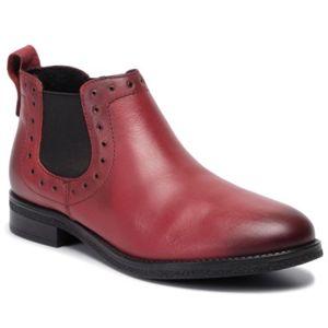 Kotníkové boty Lasocki WI23-DALIA-08 Přírodní kůže (useň) - Lícová