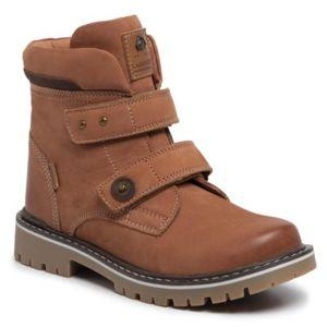 Šněrovací obuv Lasocki Young CI12-961-01 Přírodní kůže - nubuk,Přírodní kůže - lícová