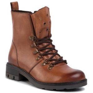 Šněrovací obuv Lasocki WI23-DEMETRA-13 Přírodní kůže - lícová