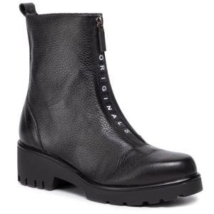 Kotníkové boty Lasocki N227 Přírodní kůže (useň) - Lícová