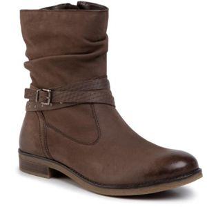 Kotníkové boty Lasocki WI23-DALIA-12 Přírodní kůže - nubuk,Přírodní kůže - lícová