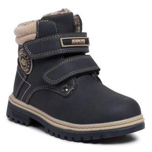 Šněrovací obuv Action Boy CP07-16994-07 Ekologická kůže /-Ekologická kůže