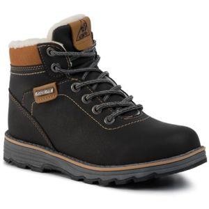 Šněrovací obuv Action Boy CP07-16828-03 Textilní materiál,Ekologická kůže