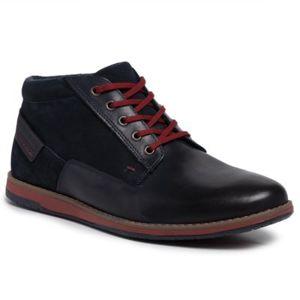 Šněrovací obuv Lasocki for men MI07-A803-A632-02 Přírodní kůže - semiš,Přírodní kůže - lícová