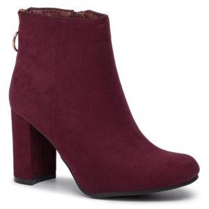 Kotníkové boty Jenny Fairy LS4175-11 Látka/-Látka