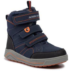 Šněrovací obuv Action Boy CP40-7961J Textilní,Ekologická kůže