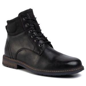 Šněrovací obuv Lanetti MYL8175-1 Ekologická kůže /-Ekologická kůže