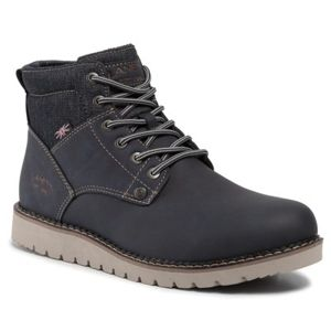 Šněrovací obuv Lanetti MP07-17187-05 Textilní,Ekologická kůže