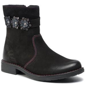 Kotníkové boty Lasocki Young CI12-HAGA-21 Přírodní kůže - nubuk,Přírodní kůže - semiš,Přírodní kůže - lícová