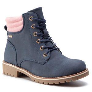 Šněrovací obuv Nelli Blu Tex CS722-60T Ekologická kůže