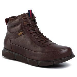 Šněrovací obuv GO SOFT MI08-C616-606-01 Přírodní kůže - lícová