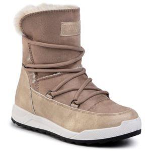 Kotníkové boty DeeZee WS270201-01 Textilní,Ekologická kůže