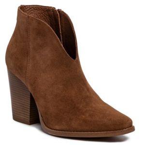 Kotníkové boty Gino Rossi 185314-06 Přírodní kůže - semiš
