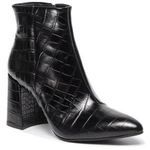 Kotníkové boty Gino Rossi DBI628-HARUMI Přírodní kůže - lícová