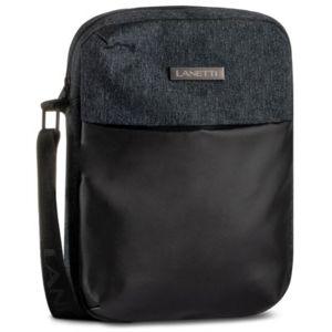 Pánské tašky Lanetti BMR-S-028-99-02 Textilní materiál