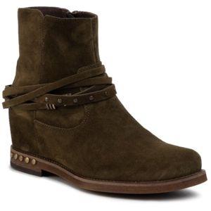 Kotníkové boty Gino Rossi 0113-01 Přírodní kůže (useň) - Semiš