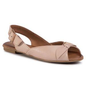 Sandály Lasocki WI23-SORANA-02 Přírodní kůže (useň) - Lícová