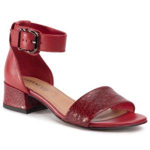 Sandály Lasocki 4490-03 Přírodní kůže (useň) - Lícová