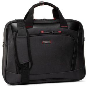 Pánské tašky Lanetti BMM-S-005-10-03 Textilní materiál