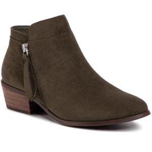 Kotníkové boty DeeZee WS300703-02 Textilní materiál