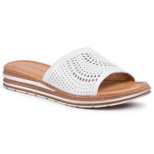 Pantofle Lasocki RST-2208-01 Přírodní kůže - lícová
