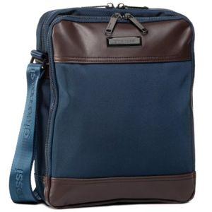 Pánské tašky Gino Rossi BGR-S-052-95-03 Přírodní kůže - Lícová,Textilní materiál