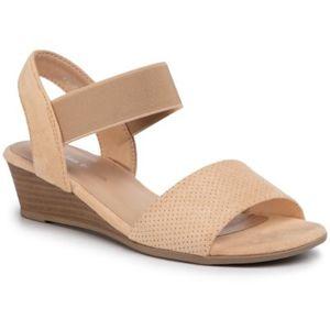 Sandály Clara Barson WS0730-02 Textilní materiál