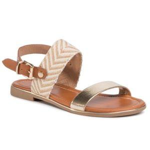Sandály Jenny Fairy WS2590-17 Textilní materiál,Ekologická kůže