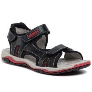 Sandály Lasocki Young CI12-2625-04 Textilní,Přírodní kůže - lícová
