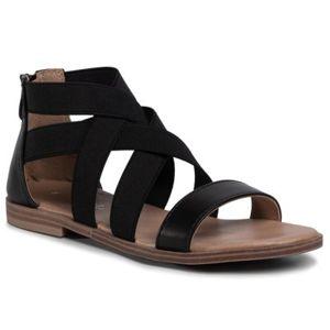 Sandály Nelli Blu CS2827-01 Textilní materiál,Přírodní kůže - lícová