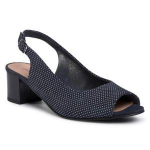 Sandály Lasocki 3668-01 Přírodní kůže - semiš