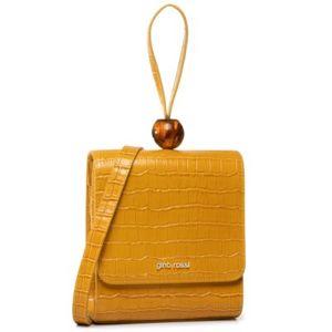 Dámské kabelky Gino Rossi RL0476 Přírodní kůže - Lícová