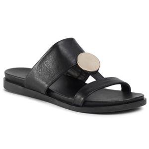 Pantofle Gino Rossi 17701 Přírodní kůže - lícová