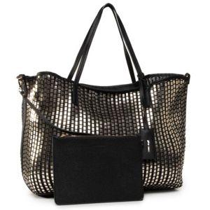 Dámské kabelky Gino Rossi RC17824 Textilní materiál,Ekologická kůže
