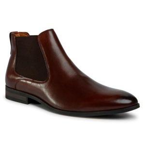Kotníkové boty Lasocki for men MI08-C736-743-09 Přírodní kůže - lícová