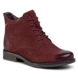 Šněrovací obuv Lasocki WI16-ALBA3-01 Přírodní kůže - nubuk,Přírodní kůže - lícová