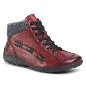 Šněrovací obuv Rieker L6543-35A Ekologická kůže