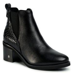 Kotníkové boty Lasocki 8002-04 Přírodní kůže - lícová