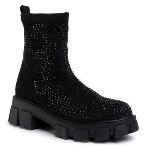 Kotníkové boty Jenny Fairy WSA20251-01 Textilní