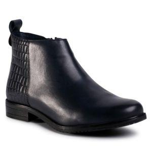 Kotníkové boty Lasocki WI16-ENNA2-06 Přírodní kůže (useň) - Lícová