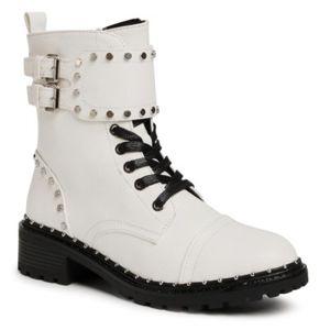 Šněrovací obuv DeeZee WS2971-03A Ekologická kůže